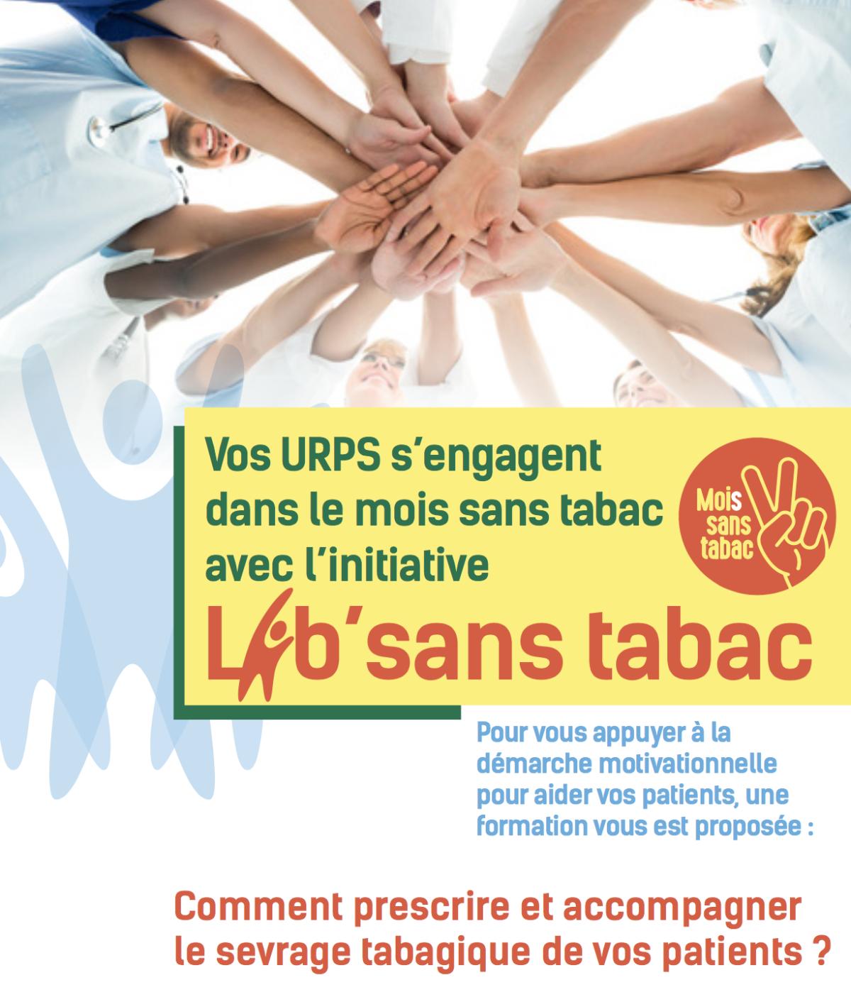 L'URPS Infirmiers soutient l'opération «Moi(s) sans tabac»