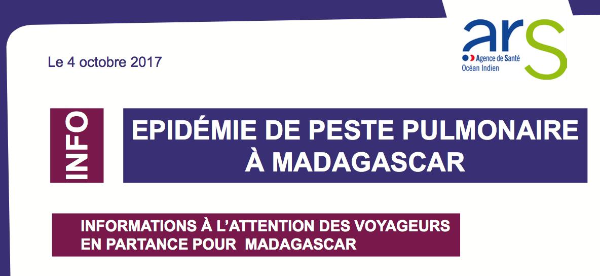 Epidémie de peste pulmonaire à Madagascar