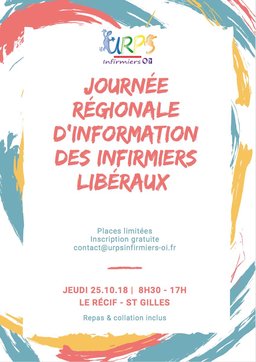 Participez à la journée régionale d'information des infirmiers libéraux