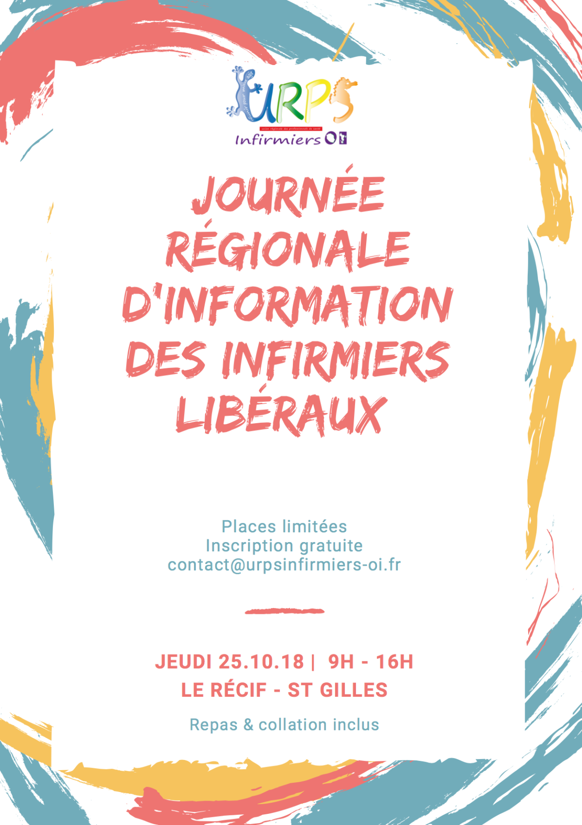 INVITATION A LA JOURNEE REGIONALE DES INFIRMIERS LIBERAUX