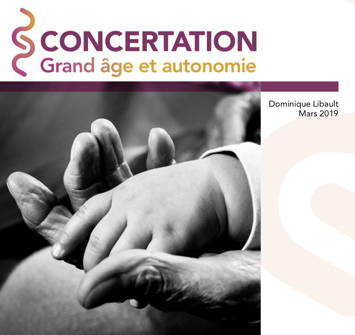 Rapport Libault «Grand âge, le temps d'agir»