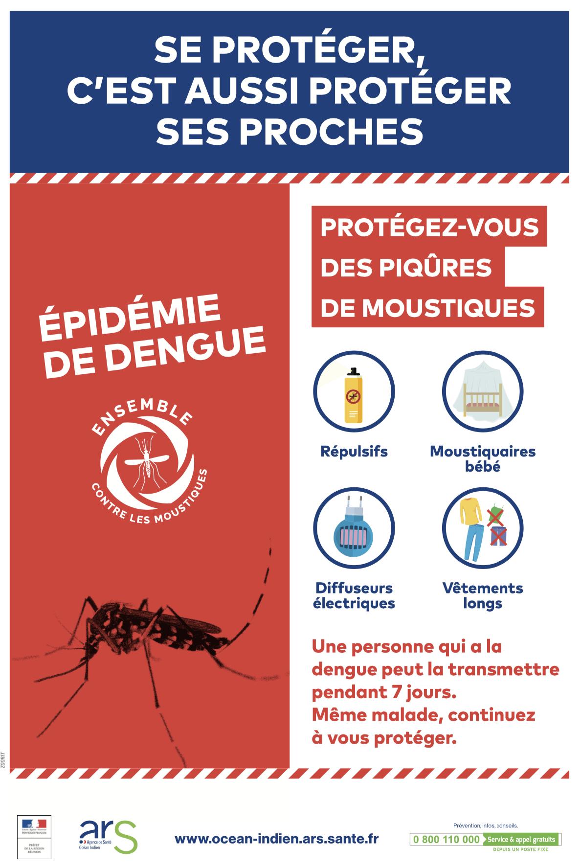 Journée départementale de mobilisation contre la dengue