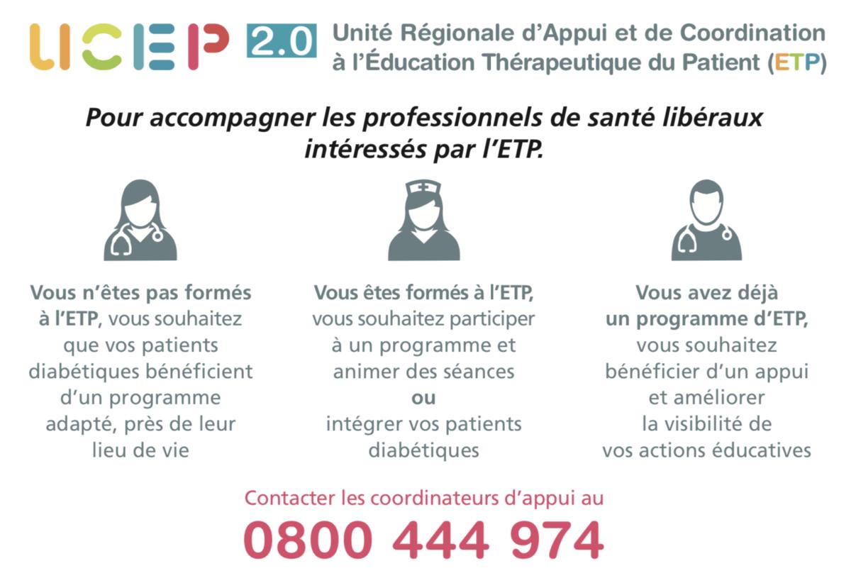 Un programme d'ETP par l'UCEP 2.0
